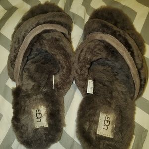 UGG Gray Slippers Size 9